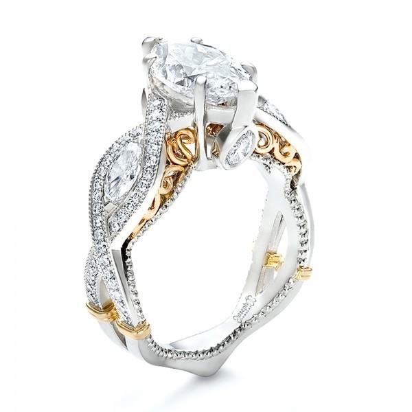 Wedding Ring Designs Two Tone